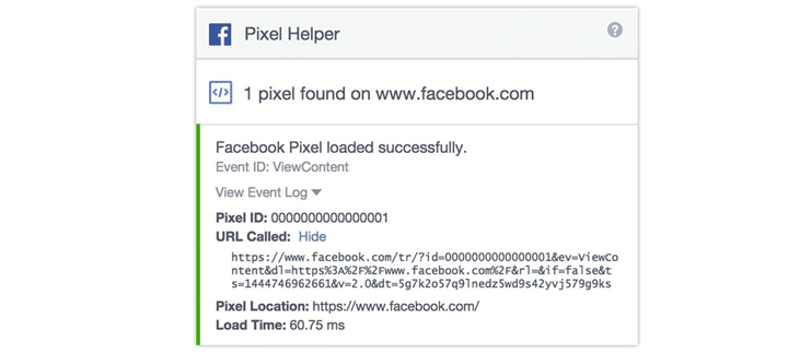 Digital Marketing - Facebook Pixel Code