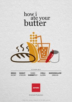Zomato Marketing Strategy How I Met Your Mother Post