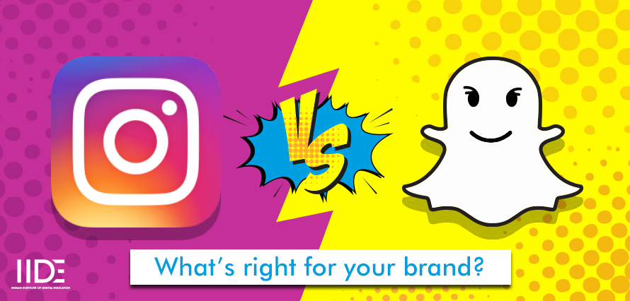 Instagram v/s Snapchat – Which Tells A Better Story For Your Brand?