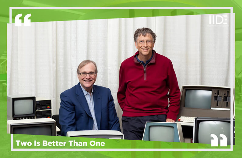Two Is Better Than One Microsoft