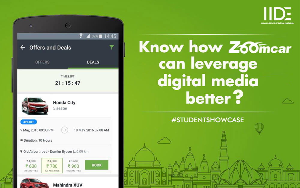 ZoomCar's Digital Marketing Strategy By Viraj Shah and Ujwal Shah