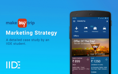 MakeMyTrip Digital Marketing Case Study
