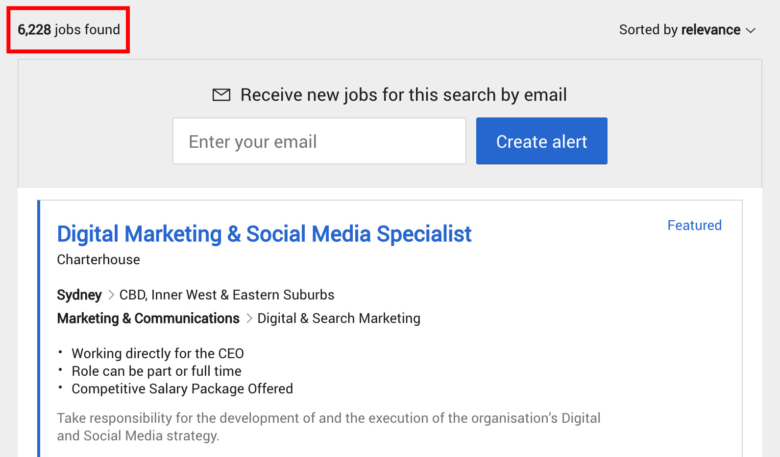 Digital Marketing Jobs in Australia